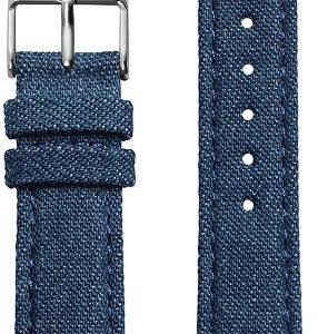 Cluse Řemínek La Bohème Blue Denim/Silver CLS031