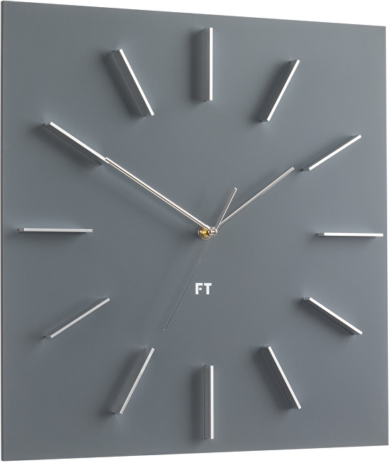 Future Time Square Grey FT1010GY
