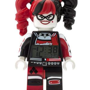 Lego Batman Movie Harley Quinn - hodiny s budíkem