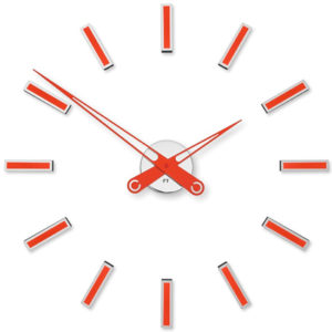 Future Time Nalepovací hodiny Modular Red FT9600RD