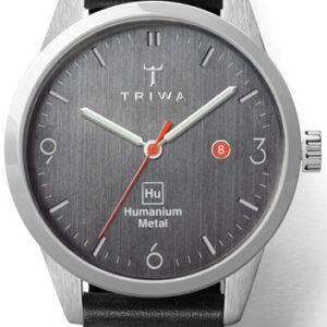 Triwa Humanium Black Sewn Classic Hu39D-SC010112