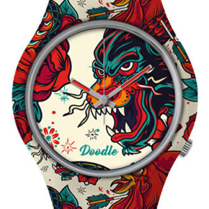Doodle Tattoo Mood Panther Old School DOTA001