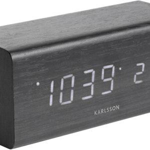Karlsson Designový LED budík - hodiny KA5652BK