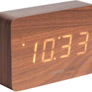 Karlsson Designový LED budík - hodiny KA5653DW