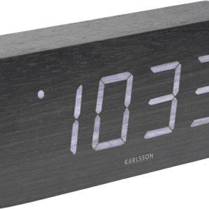 Karlsson Designový LED budík - hodiny KA5654BK