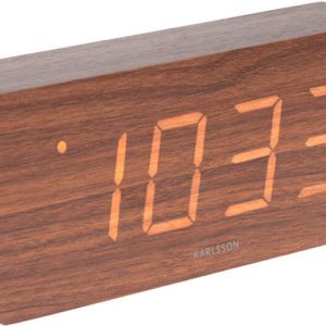 Karlsson Designový LED budík - hodiny KA5654DW