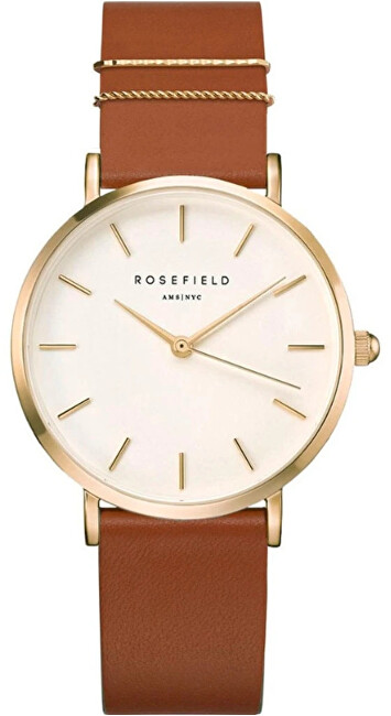 Rosefield The West Village Blush Cognac Gold WWCG-W86