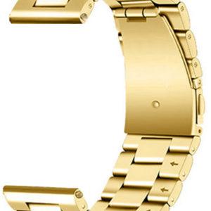 4wrist Ocelový tah - Zlatý 22 mm