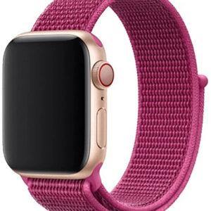 4wrist Provlékací sportovní řemínek pro Apple Watch - Dragon Fruit 38/40 mm