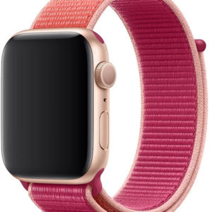 4wrist Provlékací sportovní řemínek pro Apple Watch - Růžová 42/44 mm