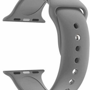 4wrist Silikonový řemínek pro Apple Watch - Šedý 42/44 mm - S/M