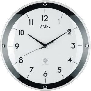 AMS Design Rádiem řízené nástěnné hodiny 5906