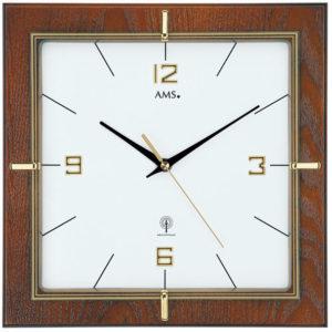 AMS Design Rádiově řízené nástěnné hodiny 5834