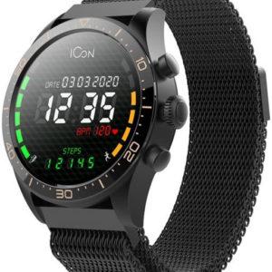 Forever Chytré hodinky Forever Icon AW-100 AMOLED černé