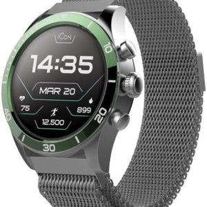 Forever Chytré hodinky Forever Icon AW-100 AMOLED zelené