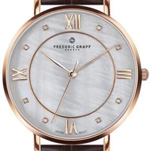 Frederic Graff Rose Liskamm Croco brown Leather FAI-B011R