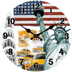 Lowell Nástěnné hodiny 14849