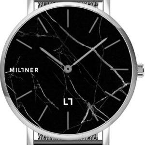 Millner Camden Marble Silver Black