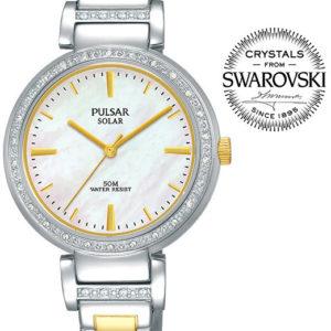 Pulsar Solar Swarovski PY5049X1