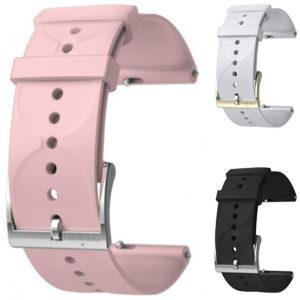 Suunto Suunto3Fitness Silikonový řemínek k hodinkám Suunto 3 a Suunto 3 Fitness černý s bronzovou sponou