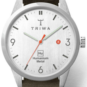 Triwa Humanium Recycled Green Classic Super Slim Hu34L-SS080912