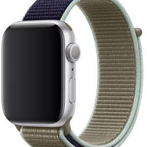 4wrist Provlékací sportovní řemínek pro Apple Watch - Khaki 42/44 mm