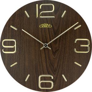 Prim Nástěnné hodiny Timber Noble I E01P.4084.54